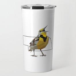 Nebraska – Western Meadowlark Travel Mug