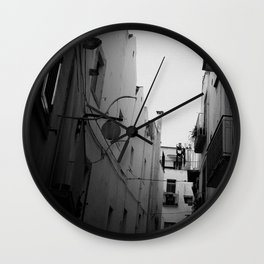 The Streets of Italy Wall Clock