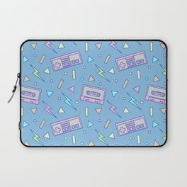 80s Video Games and Mix Tapes Laptop Sleeve