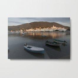 Sunrise in Cadaqués Metal Print