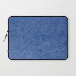 Light Blue Stucco - Corbin Henry Monochromatic texture -Faux Finishes - Venetian Plaster Laptop Sleeve