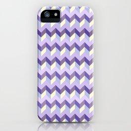 Purple Chevron iPhone Case