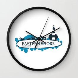 Eastern Shore - Maryland. Wall Clock