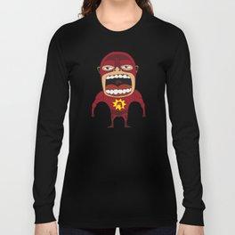 Screaming Crimson Bolt Long Sleeve T-shirt