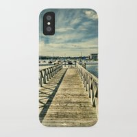 boardwalk empire iPhone & iPod Cases featuring Boardwalk by Steve Purnell