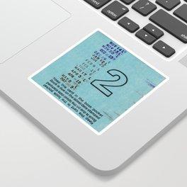 Ilium Public Library Card No. 2 Sticker