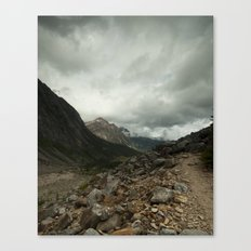 Mout Edith Cavell Canvas Print