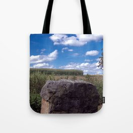 Landscape rock Tote Bag