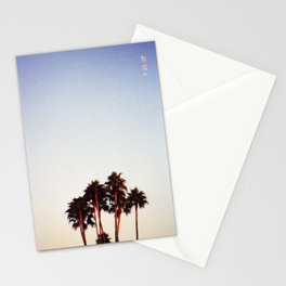 Sunset and Palms Stationery Cards