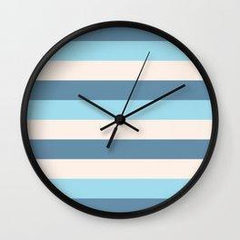 Stripes - Vacation Wall Clock