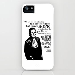 Tribute to RBG iPhone Case