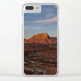 Sunset Ridge - iPhone-Photo, #sunset Clear iPhone Case