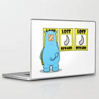 rhino Laptop & iPad Skins featuring rhino by chee weng