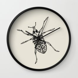 Botany Bay Weevil Wall Clock
