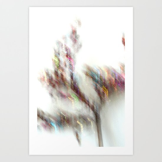 Glittering Tree - JUSTART Art Print