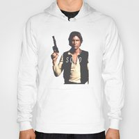 han solo Hoodies featuring Han / Solo by Earl of Grey