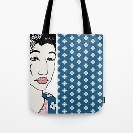 Blue Flowers of China Tote Bag