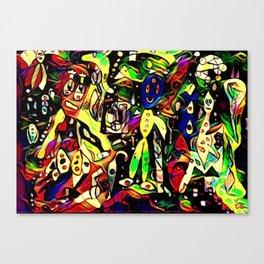 Unstable Canvas Print