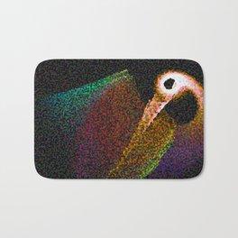 Bird abstrakt Bath Mat