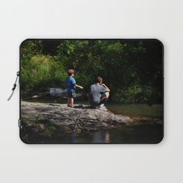 Skipping Stones Laptop Sleeve
