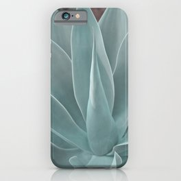 Azul Succulent Agave Plant iPhone Case