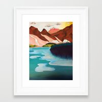 outdoor Framed Art Prints featuring Outdoor by salauliamusu