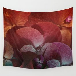 """""""Floral Pink Fantasy Forest"""" Wall Tapestry"""