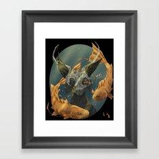 Fate fish  Framed Art Print