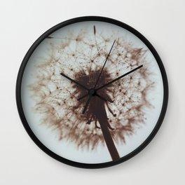 Summer Fading Wall Clock