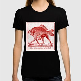 IF FISHES HAD LEGS (red) T-shirt