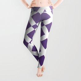 Purple Cross Leggings