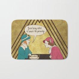 Tea and Patriarchy Bath Mat
