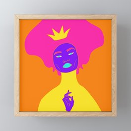 Inspired by Tarot: The Empress Framed Mini Art Print