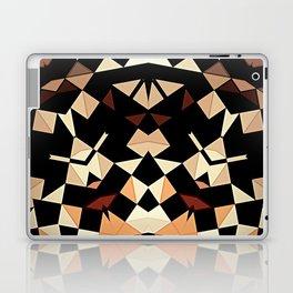 Patchwork Half Mandala Neutral Tones Laptop & iPad Skin