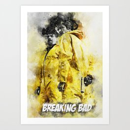 BreakingBad Art Print