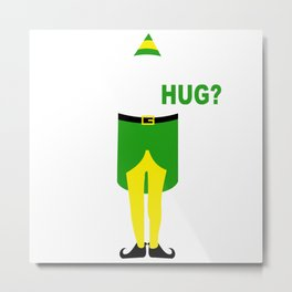 buddy elf chrismas Metal Print