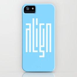 align iPhone Case