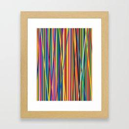 STRIPES STRIPES STRIPES Framed Art Print