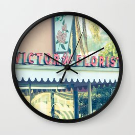 Victor the Florist Wall Clock