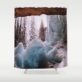 Hanging Lake Spouting Rock at Glenwood Canyon Glenwood Spring Area Colorado. Shower Curtain