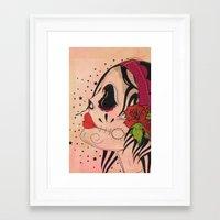 gypsy Framed Art Prints featuring Gypsy by Dioni Pinilla
