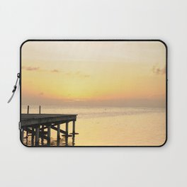 Sunset's in Belize Laptop Sleeve