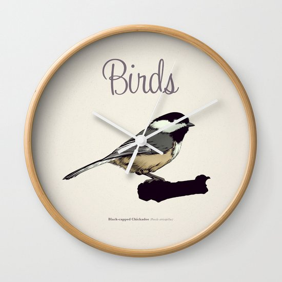 BIRDS 03 Wall Clock