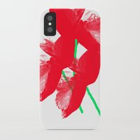 poppies iPhone & iPod Cases featuring Poppies by Vitta