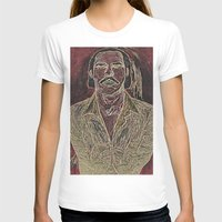 nick cave T-shirts featuring Cave by Alec Goss