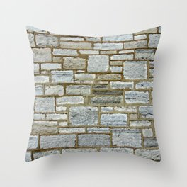Another Stone In The Wall. Throw Pillow