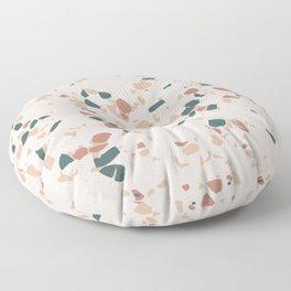 Terrazzo Peach Floor Pillow