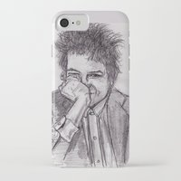 bob dylan iPhone & iPod Cases featuring Bob Dylan by jamestomgray