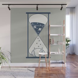 Space Hourglass Wall Mural