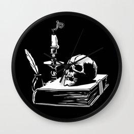 Grimoire Wall Clock